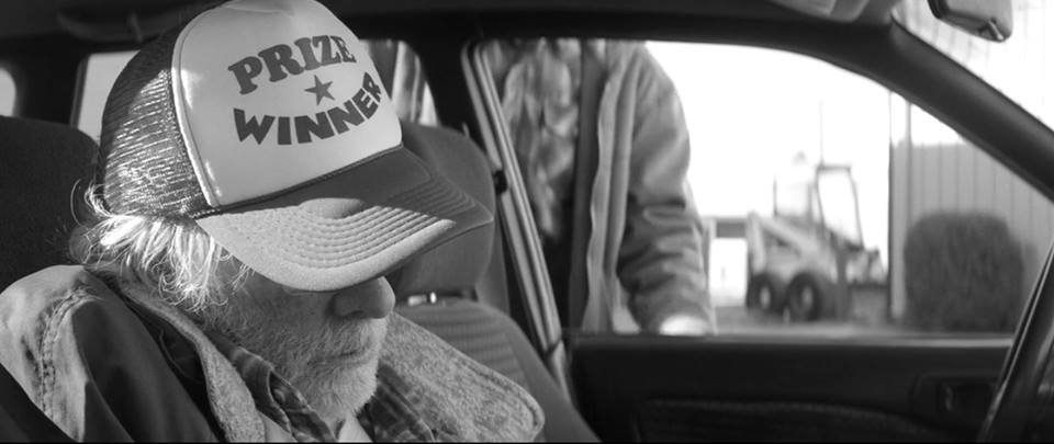 Screen shot from the movie Nebraska